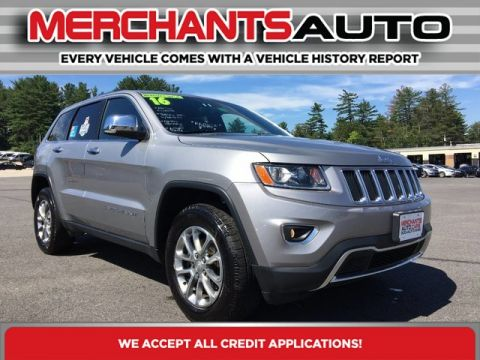 Pre-Owned 2016 Jeep Grand Cherokee Limited Four Wheel Drive SUV