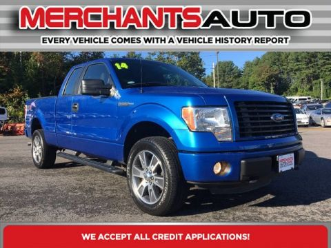 Pre-Owned 2014 Ford F-150 STX Sport Four Wheel Drive Pickup Truck
