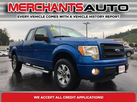 Pre-Owned 2014 Ford F-150 STX Four Wheel Drive Pickup Truck