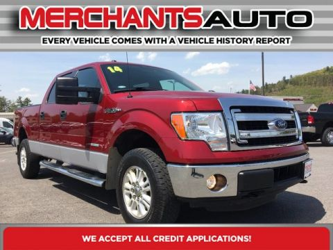 Pre-Owned 2014 Ford F-150 XLT Four Wheel Drive Pickup Truck