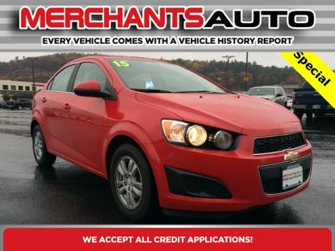 Pre-Owned 2015 Chevrolet Sonic LT Front Wheel Drive Sedan