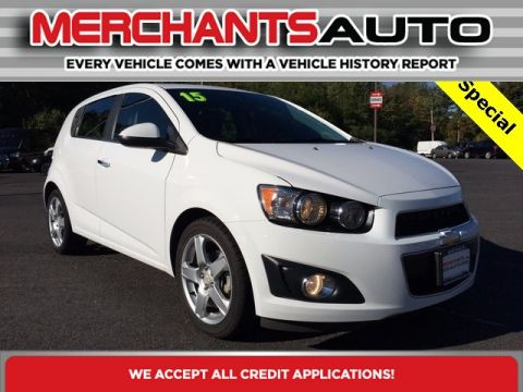 Pre-Owned 2015 Chevrolet Sonic LTZ Front Wheel Drive Hatchback