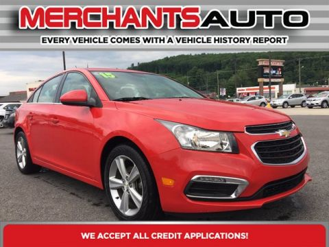 Pre-Owned 2015 Chevrolet Cruze LT Front Wheel Drive Sedan