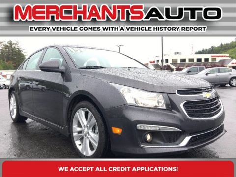 Pre-Owned 2015 Chevrolet Cruze LTZ Front Wheel Drive Sedan