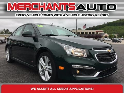 Pre-Owned 2015 Chevrolet Cruze LTZ RS Front Wheel Drive Sedan