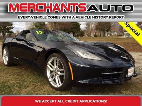 Pre-Owned 2015 Chevrolet Corvette Z51 1LT Rear Wheel Drive Coupe