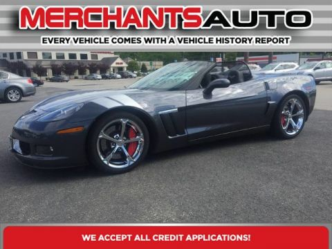 Pre-Owned 2012 Chevrolet Corvette Z16 Grand Sport w/3LT Rear Wheel Drive Convertible
