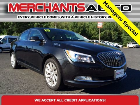 Pre-Owned 2015 Buick LaCrosse Leather Group FWD 4D Sedan