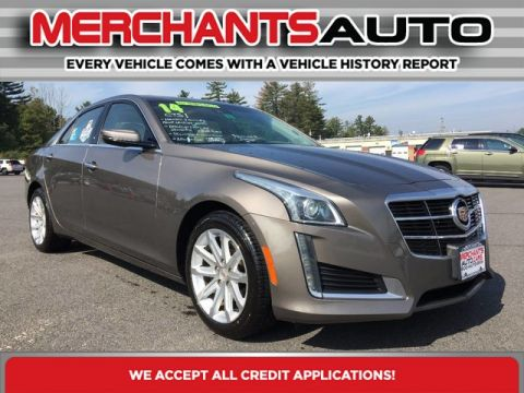 Pre-Owned 2014 Cadillac CTS Sedan Luxury AWD All Wheel Drive Sedan