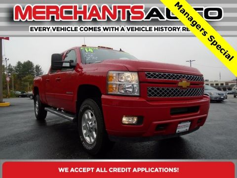 Pre-Owned 2014 Chevrolet Silverado 3500HD LTZ 4WD