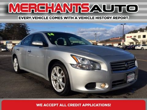 Pre-Owned 2014 Nissan Maxima 3.5 SV Front Wheel Drive Sedan