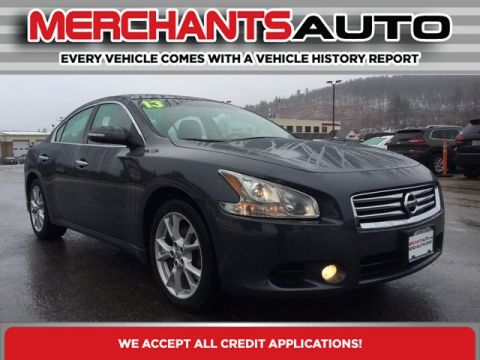 Pre-Owned 2013 Nissan Maxima 3.5 SV Front Wheel Drive 4dr Car