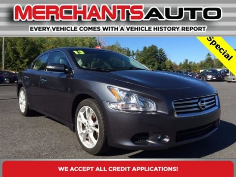 Pre-Owned 2013 Nissan Maxima 3.5 SV Front Wheel Drive Sedan