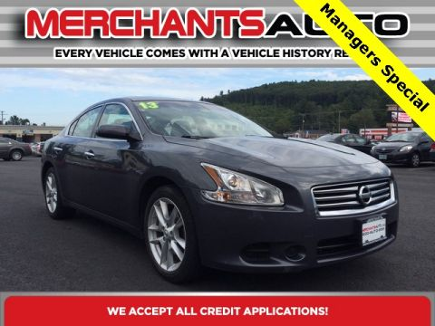 Pre-Owned 2013 Nissan Maxima 3.5 S FWD 4D Sedan