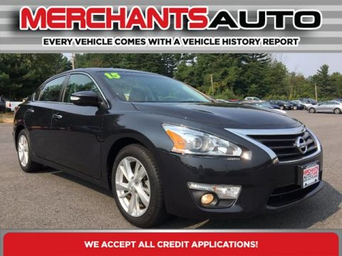 Pre-Owned 2015 Nissan Altima 2.5 SL Front Wheel Drive Sedan