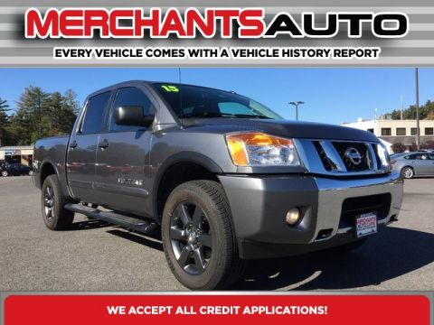 Pre-Owned 2015 Nissan Titan SV 4WD