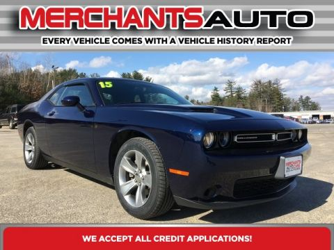 Pre-Owned 2015 Dodge Challenger SXT RWD 2D Coupe
