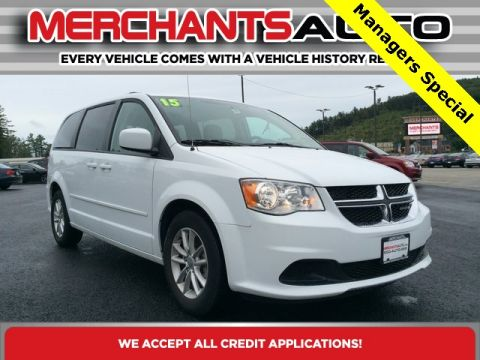 Pre-Owned 2015 Dodge Grand Caravan SXT FWD 4D Passenger Van