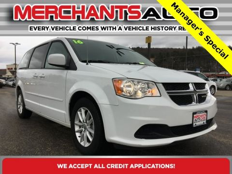 Pre-Owned 2016 Dodge Grand Caravan SXT FWD 4D Passenger Van