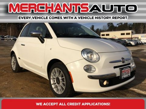 Pre-Owned 2013 FIAT 500c Lounge FWD 2D Convertible