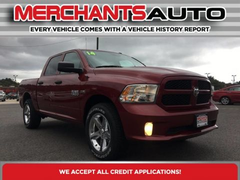 Pre-Owned 2014 Ram 1500 Express Four Wheel Drive Pickup Truck