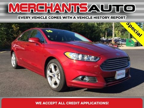 Pre-Owned 2016 Ford Fusion SE Front Wheel Drive 4dr Car