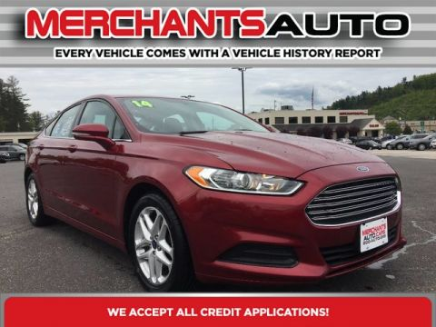 Pre-Owned 2014 Ford Fusion SE Front Wheel Drive Sedan