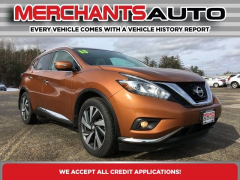Pre-Owned 2015 Nissan Murano Platinum with Navigation & AWD