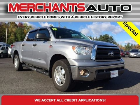 Pre-Owned 2012 Toyota Tundra 4WD Truck  Four Wheel Drive Pickup Truck