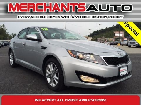 Pre-Owned 2013 Kia Optima EX Front Wheel Drive Sedan