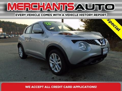 Pre-Owned 2016 Nissan JUKE S AWD All Wheel Drive SUV