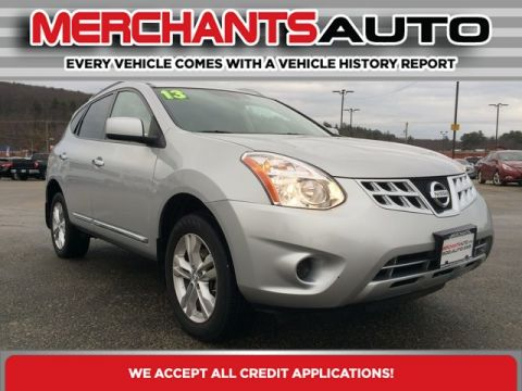 Pre-Owned 2013 Nissan Rogue SV All Wheel Drive Sport Utility
