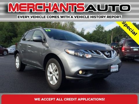 Pre-Owned 2013 Nissan Murano SV All Wheel Drive SUV