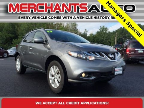 Pre-Owned 2013 Nissan Murano SV AWD