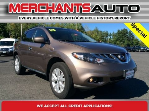 Pre-Owned 2013 Nissan Murano SV All Wheel Drive Sport Utility