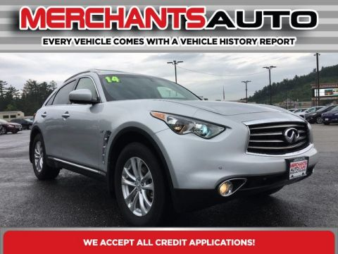 Pre-Owned 2014 INFINITI QX70 Base AWD