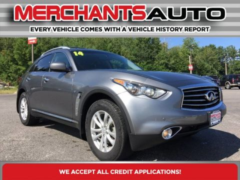 Pre-Owned 2014 INFINITI QX70  All Wheel Drive SUV