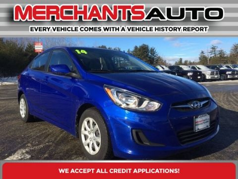 Pre-Owned 2014 Hyundai Accent GLS Front Wheel Drive Sedan