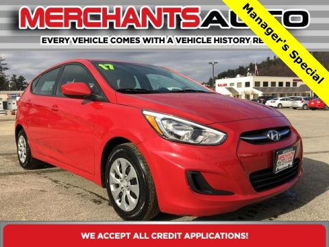 Pre-Owned 2017 Hyundai Accent SE FWD 4D Hatchback