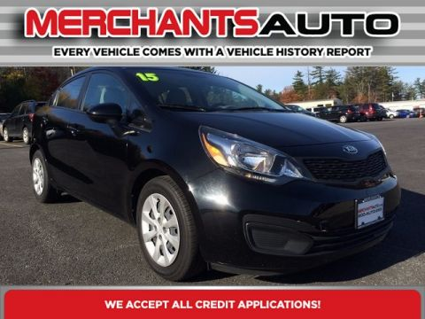 Pre-Owned 2015 Kia Rio LX Front Wheel Drive Sedan