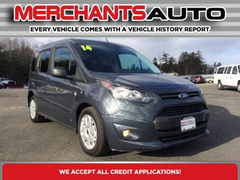 Pre-Owned 2014 Ford Transit Connect Wagon XLT Front Wheel Drive Mini-van, Passenger