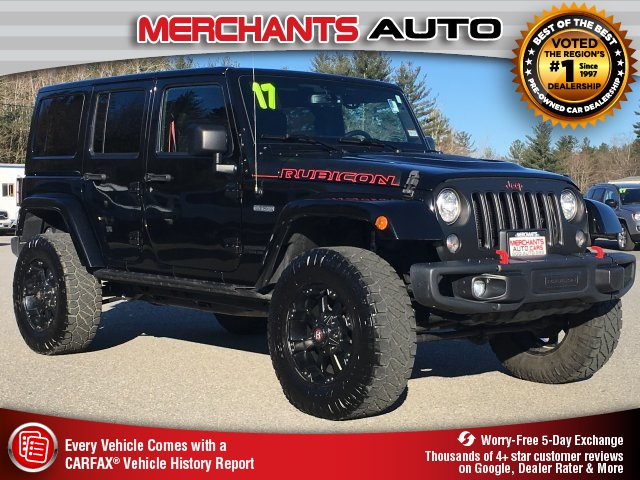 Pre Owned 2017 Jeep Wrangler Unlimited Rubicon