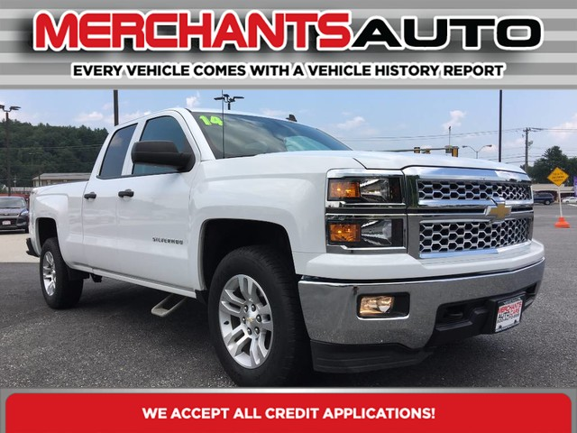 Pre-Owned 2014 Chevrolet Silverado 1500 LT Four Wheel Drive Pickup Truck