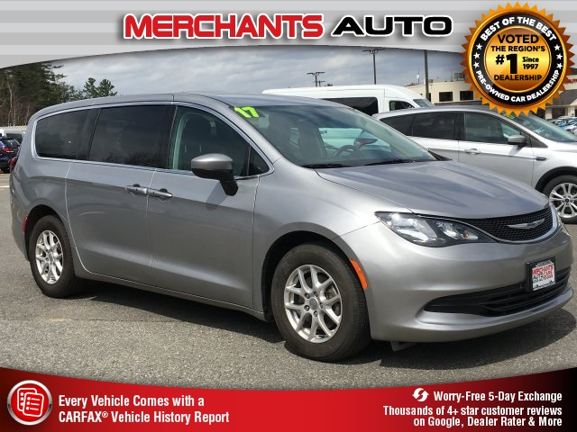 Used 2017 Chrysler Pacifica >> Used 2017 Chrysler Pacifica In Hooksett 53143 Merchants Auto