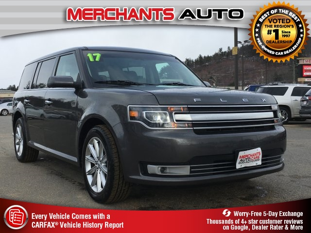 pre-owned 2017 ford flex limited 4d sport utility in hooksett #52742