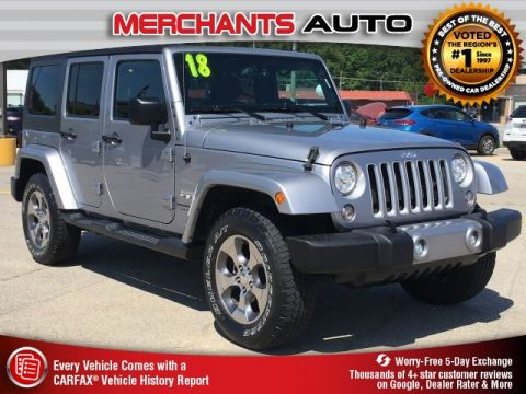 Used 2018 Jeep Wrangler JK Unlimited Sahara 4WD