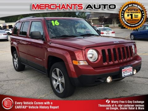 Used 2016 Jeep Patriot High Altitude 4WD