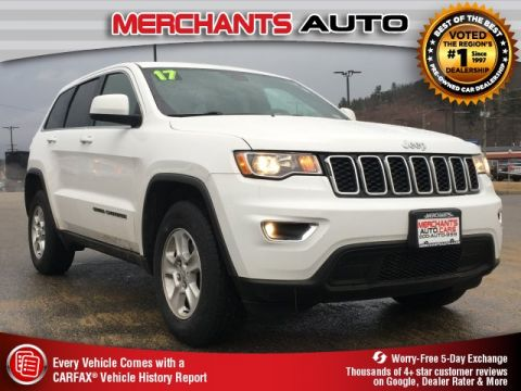 Used 2017 Jeep Grand Cherokee Laredo 4WD