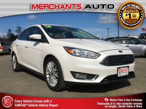 Used 2018 Ford Focus Titanium FWD 4D Sedan