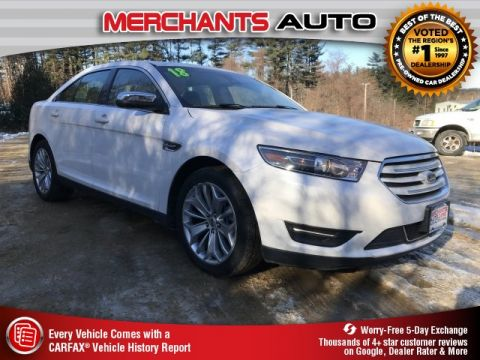 Pre-Owned 2018 Ford Taurus Limited FWD 4D Sedan
